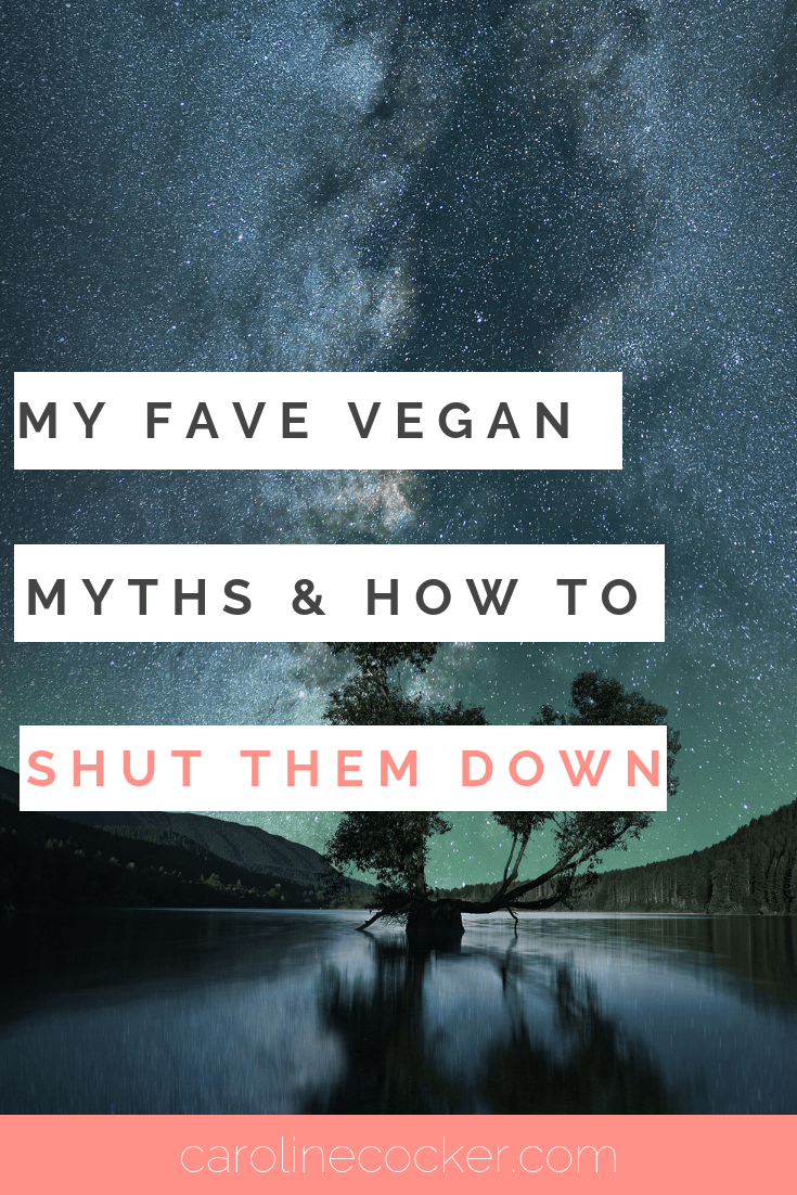 vegan myths