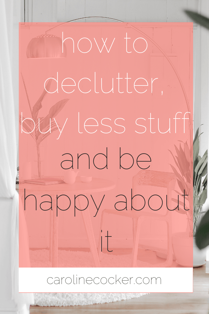 declutter