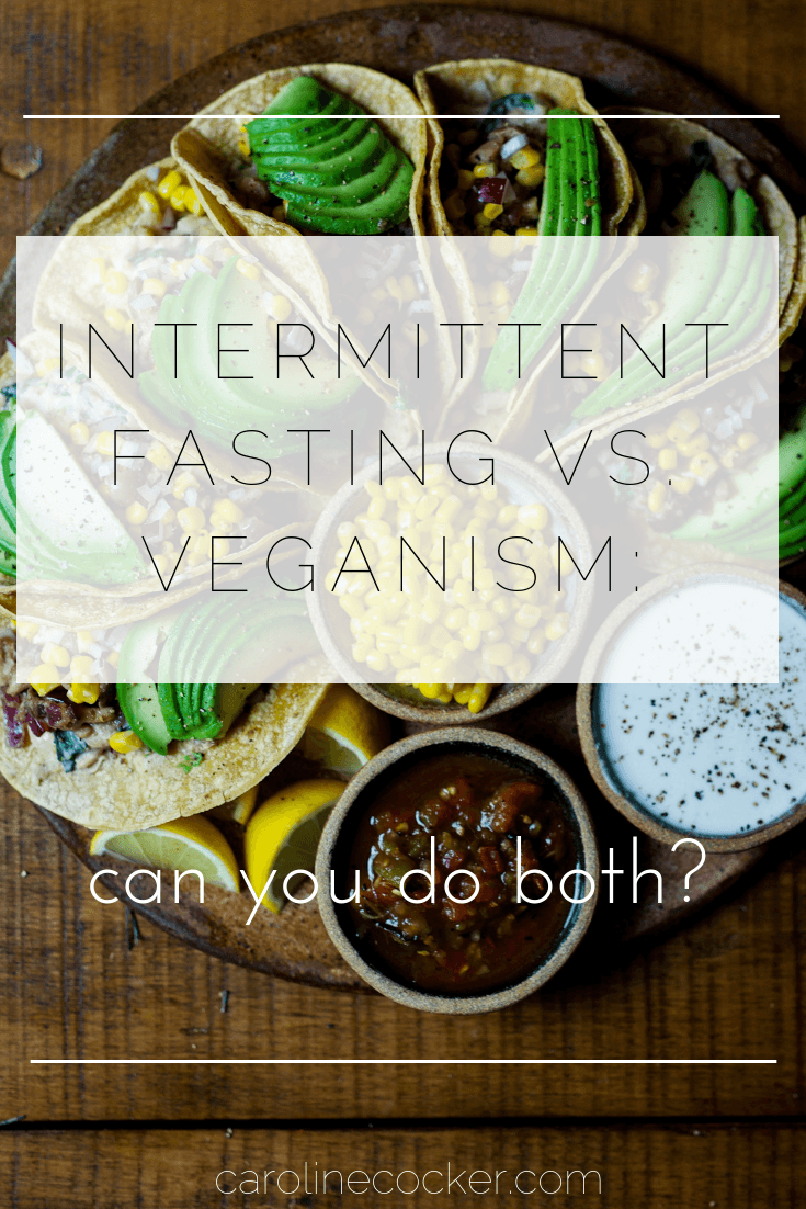 vegan intermittent fasting